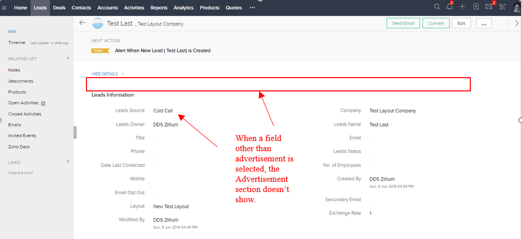 Zoho Crm Admin Tip Layouts Versus Field Rules For Profile