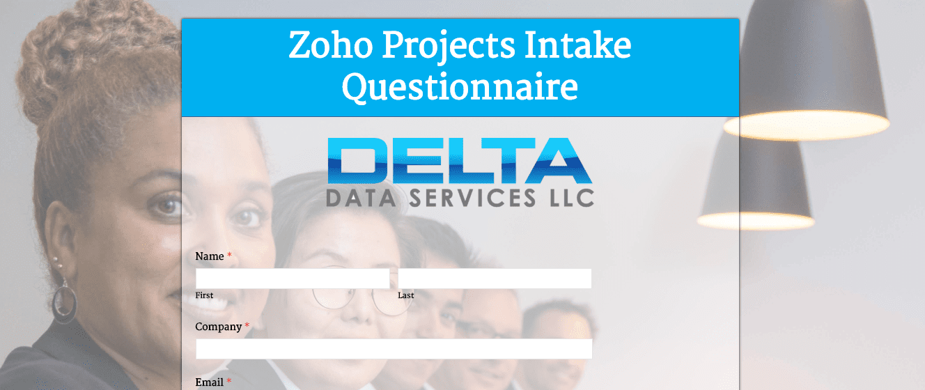 Dds Zoho Projects Intake Questionnaire Delta Data