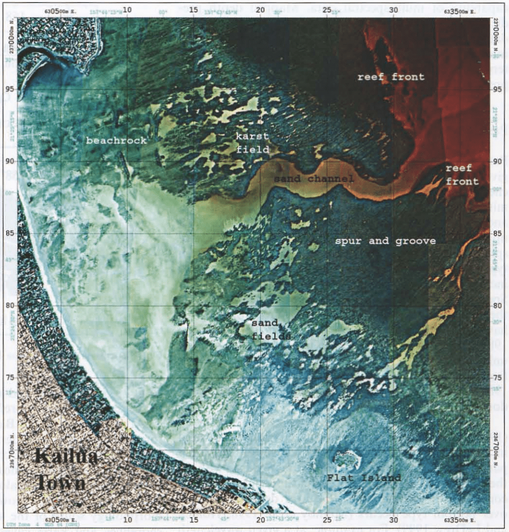 Larsen Kailua Bay Multi Spectral Map
